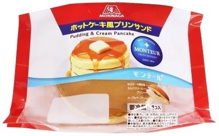モンテール 小さな洋菓子店 森永ホットケーキ風プリンサンド 袋1個
