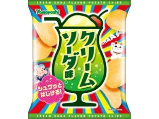 山芳製菓 ポテトチップス クリームソーダ味 袋48g