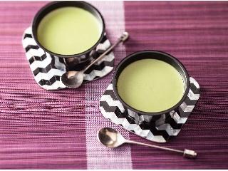 セブン-イレブン 宇治抹茶使用 豆乳抹茶ぷりん