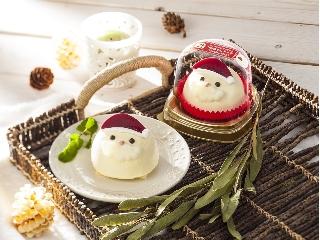 セブン-イレブン チョコ&バニラクリーム サンタさんケーキ
