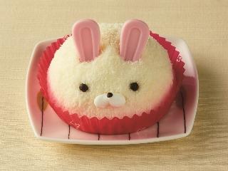 セブン-イレブン バニラ&チョコ うさぎのムースケーキ