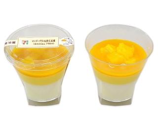 セブン-イレブン マンゴープリン&杏仁豆腐