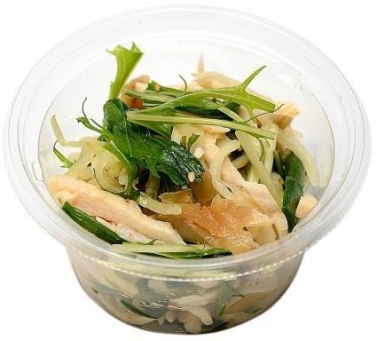 Image of 蒸し鶏とたっぷり!ザーサイ(胡麻油風味)