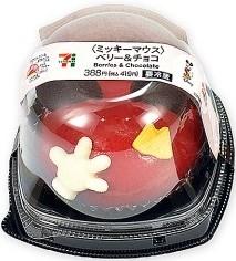 セブン-イレブン ミッキーマウス ベリー&チョコ
