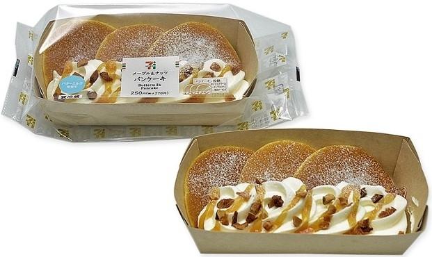セブン-イレブン メープル&ナッツパンケーキ