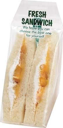 ローソンストア100 さつま芋サンド