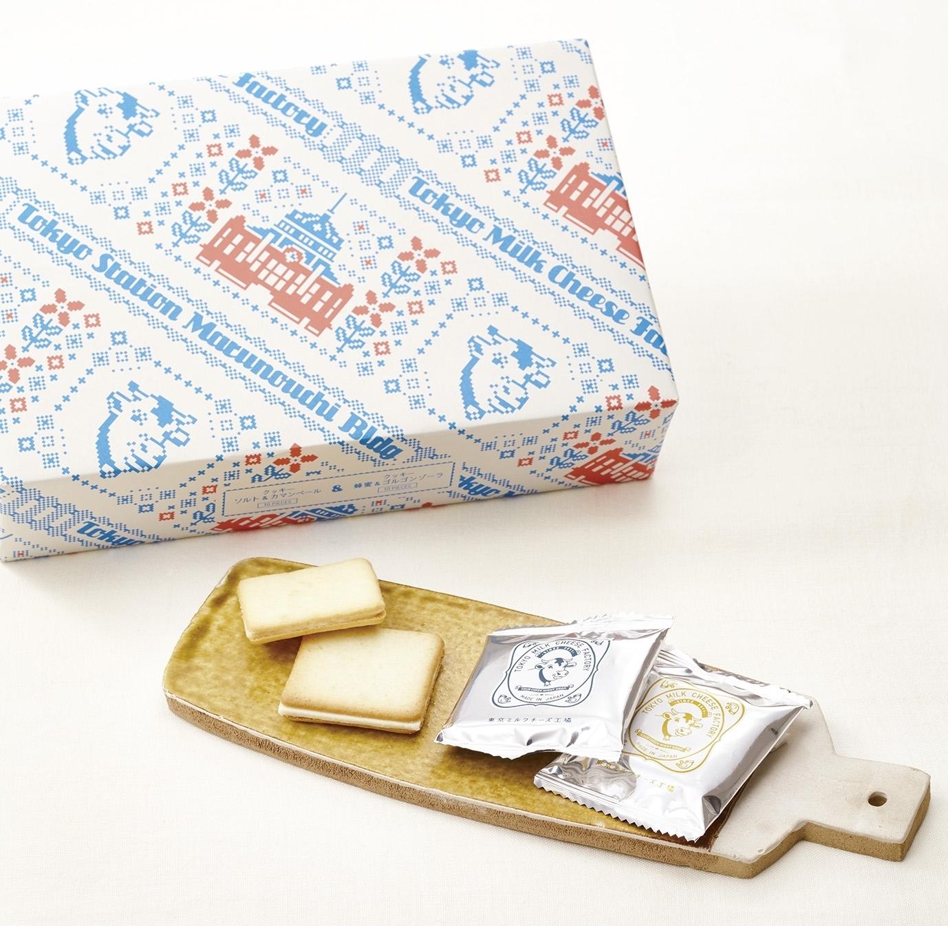 東京ミルクチーズ工場 東京駅限定クッキー詰合せ 箱20枚