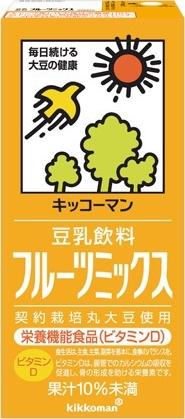 キッコーマン 豆乳飲料 フルーツミックス