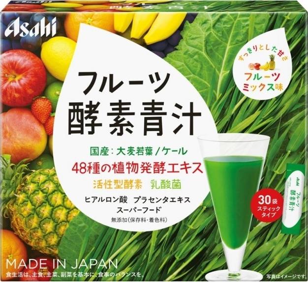 アサヒ フルーツ酵素青汁 箱3g×3...