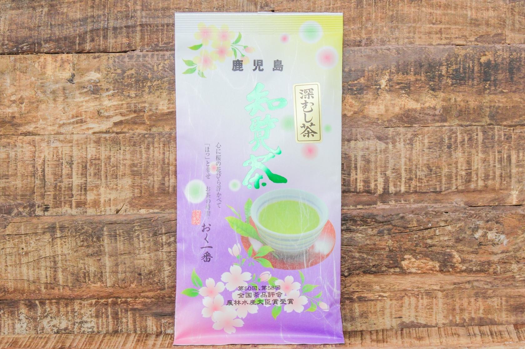 お茶の春一番 知覧茶 おく一番 袋100g