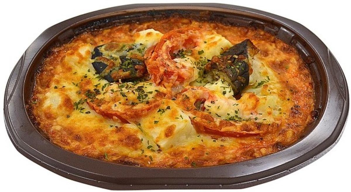 ナス と トマト の チーズ 焼き