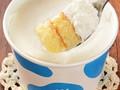 ローソン Uchi Cafe' SWEETS シルフォン シルクミルククリームシフォンケーキ