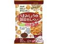 アサヒフード&ヘルスケア リセットボディ 雑穀せんべい うまみしょうゆ味 袋22g×4