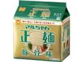 マルちゃん マルちゃん正麺 豚骨味 袋5食