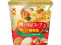 マルちゃん カップ朝の満足スープ トマト酸辣湯 カップ11g