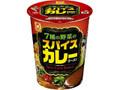 マルちゃん 7種の野菜のスパイスカレーラーメン カップ93g