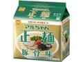 マルちゃん マルちゃん正麺 豚骨味 袋88g×5
