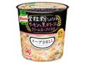 クノール スープDELI 豆乳仕立て サーモンと黒オリーブのクリームスープパスタ
