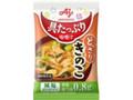 味の素 具たっぷり味噌汁 きのこ 減塩タイプ 袋10.4g