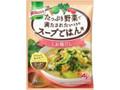 クノール たっぷり野菜で満たされたいときのスープごはん用 しお鶏だし 袋17.3g