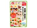 森永 大満足ごはん 豆腐と野菜のあんかけチャーハン 12ヶ月頃から 袋120g