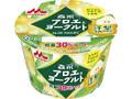 森永 アロエ&ヨーグルト 洋梨果肉プラス カップ118g