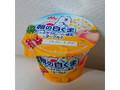 森永 朝の白くま たっぷりフルーツ&練乳とヨーグルト カップ140g