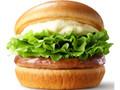 モスバーガー クリームチーズテリヤキバーガー ナチュラルチーズ使用