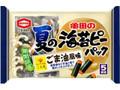 亀田製菓 夏の海苔ピーパック ごま油風味 袋82g