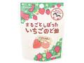 カンロ まるごとしぼったいちごのど飴 袋26g