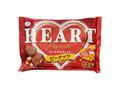 不二家 ハートチョコレート ピーナッツ 袋14枚