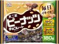 不二家 ピーナッツチョコレート 袋180g