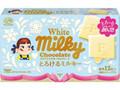 不二家 ホワイトミルキーチョコレート とろけるミルキー 箱60g