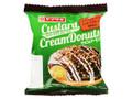 ヤマザキ カスタードクリームドーナツ チョコ&アーモンド 袋1個