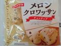 ヤマザキ メロンクロワッサン チョコチップ 4個