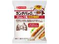ヤマザキ ランチパック オムレツ風 牛すじカレーソース 袋2個