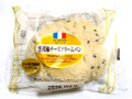 ヤマザキ 黒胡麻チーズクリームパン 袋1個