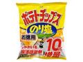 コイケヤ ポテトチップス のり塩 10%増量 袋139g