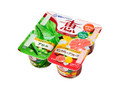 雪印メグミルク ナチュレ恵 アロエ+ピンクグレープフルーツ パック70g×4