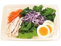 ファミリーマート 半熟玉子と蒸し鶏のサラダ