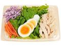 ファミリーマート 増量半熟玉子と蒸し鶏のサラダ
