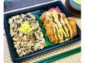 ファミリーマート 赤鶏さつまのかしわ飯&チキンカツ弁当