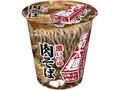 エースコック タテロング 厚切太麺 濃いつゆ肉そば カップ93g
