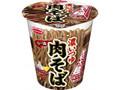 エースコック 厚切太麺 濃いつゆラー油肉そば カップ93g
