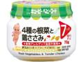 キユーピー 4種の根菜と鶏ささみ 瓶70g