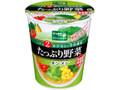 サッポロ一番 グリーンプレミアム たっぷり野菜 タンメン カップ78g