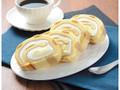 ローソン 大きなもち食感ロール ホイップクリーム&カスタードホイップ