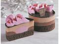 ローソン Uchi Cafe' SWEETS ルビーチョコレートのショコラケーキ