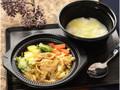 ローソン 鍋から〆まで楽シメる 豚肉カレー鍋 チーズリゾット