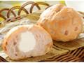 ローソン マチノパン もち麦とくるみのチーズクリームパン 2個入